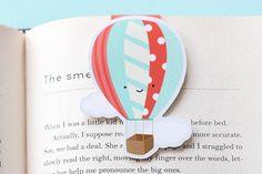 Hot Air Balloon Magnetic Bookmark (Jumbo)