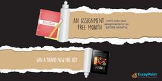 Hey Students... Want to win a FIRE HD TABLET and an ASSIGNMENT FREE MONTH? P.S. - Everybody gets an assured prize! http://www.essaypoint.co.uk/no-assignment-month/