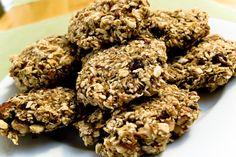 Tasty healthy raw oatmeal cookies - Healthy Mama style!