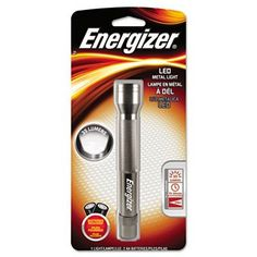 FLASHLIGHT,2AA METAL LED