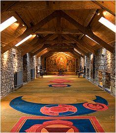 meditation room in Killenure Castle Dublin