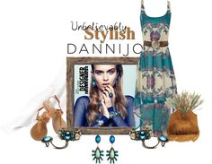 """Peaceful Warriors + Trippy Hippies with DANNIJO"" by deborah-simmons ❤ liked on Polyvore"