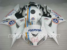 Honda CBR 1000RR 2006-2007 ABS Fairing - Repsol #06hondacbr1000rrfairings #2007hondacbr1000rrfairingkit
