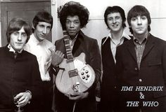 Jimi Hendrix and The Who - Fotolog