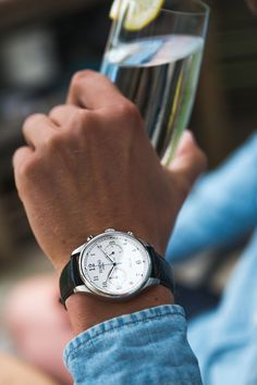 The beautiful Tusenö First 42, this piece really sets a new standard in affordable luxury watches.FIRST 42 - Silver/White Shop Here
