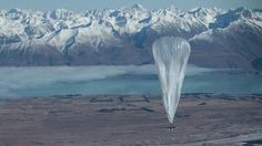 High-wireless act A high-altitude balloon - part of Google's Project Loon – floats near Lake Tekapo, New Zealand. The balloons will provide internet access in remote areas.