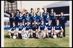 Team Photograph | The Everton Collection 1984 www.theevertonforum.com