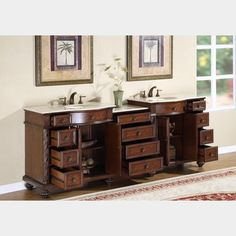 90 Inch Double Bathroom Vanity 90 inch traditional double bathroom vanity | bathroom vanities 90