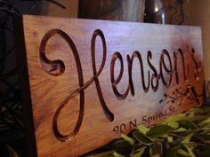Home Decor 18 x 7 Nature Inspired Family Name Sign Welcom Established Sign Personalized Bridesmaid Gifts Wood Carved Sign Wood Name Personalized Bridesmaid Gifts, Personalized Signs, 5th Anniversary Ideas, Welcome Home Signs, Small Floor Plans, Established Family Signs, Carved Wood Signs, Name Plaques, Family Name Signs
