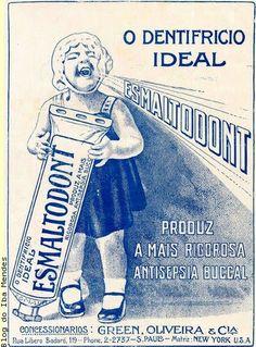 Iba Mendes: Anúncios antigos: produtos de higiene bucal