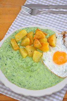 Špenátová zemiaková kaša Avocado Toast, Guacamole, Breakfast, Ethnic Recipes, Party, Food, Morning Coffee, Parties, Meals