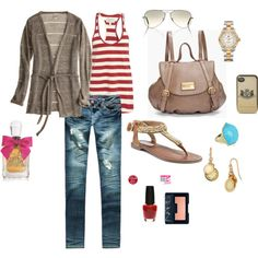 Perfect summer date outfit for dinner & a movie- cardigan for the movies... duh :)