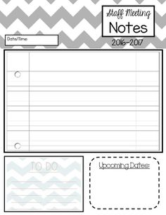 Free Pretty Printable Meeting Agenda Templates | Pinterest | Notes ...