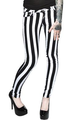 beetlejuice leggies  I believe these would look bizarre on my legs but I don't care!!!