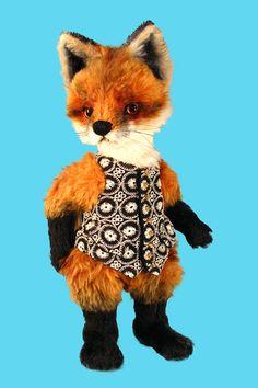 Fox Jacket Pattern PDF Riding Jacket Vest Stock Teddy