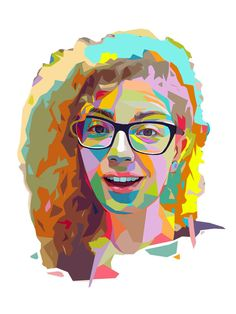 Wonderful idea for birthday gift! Personal digital portrait in WPAP style. It may be printed on T-shirt, cup or phone case. It can be presented as a poster in the frame or like a print on canvas. It can be used like userpic on Facebook or other apps.  How to order: 1. Send me a photo in high resolution (as higher quality of photo as better the result). 2. If you cant choose photo, write me and Ill help you to make right choice. 3. Term of creation is 1 week.  Each portrait is individual and…