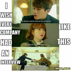 And a hot puppy like CEO to fall in love with. Kdrama Memes, Funny Kpop Memes, Stupid Funny Memes, Korean Drama Funny, Korean Drama Quotes, Lee Dong Wook, Strong Girls, Strong Women, Strong Woman Do Bong Soon