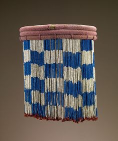 Africa Skirt from the Zulu people of South Africa Late to early century Glass beads, cloth and plant fiber Ethnic Jewelry, Beaded Jewellery, African Jewelry, Bead Jewelry, African Life, Xhosa, Yoruba, African Textiles, African Beads