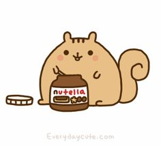 If I could, I would be like that a whole day with Nutella on my hands.