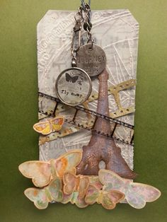 My entry for the 12 Tags of 2014 challenge with Tim Holtz