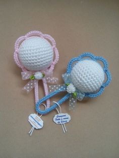 How To Make A Cute Crocheted Charm Babys Dummy – DIY Crafts Tutorial – Guidecentral. Guidecentral is a fun and visual way to discover DIY ideas learn new skills, meet amazing people who share your passions and even upload your own DIY guides. Crochet Bunny, Love Crochet, Crochet Gifts, Crochet For Kids, Crochet Toys, Crochet Summer, Crochet Designs, Crochet Patterns, Crochet Bookmarks