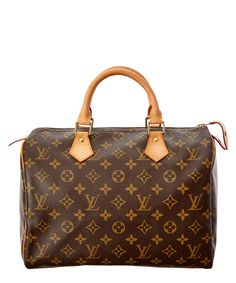 5c1af36bcab10 LOUIS VUITTON Louis Vuitton Monogram Canvas Speedy 30 .  louisvuitton  bags   hand bags  canvas  lining