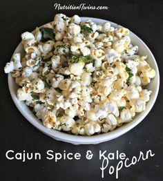 Cajun Spice & Kale Popcorn