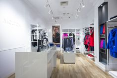 Fashion store lighting, Track Light & Rail Lighting, MOLTON, Track Light Citizen / LED Pull Out Downlight, oświetlenie logo