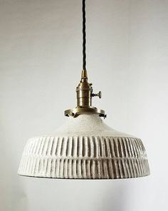 Ceramics, Lighting, Pendant Lamp, Hanging Pendants, Hanging Pendant Lamp, Metal Canopy, Ceramic Lamp, Lamp Light, Lights