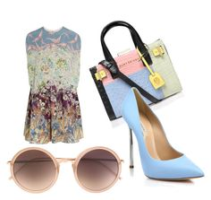 """""""Untitled #459"""" by heden-fun ❤ liked on Polyvore featuring Valentino, Kurt Geiger, Linda Farrow and Casadei"""