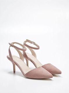 Туфли с застежкой на лодыжке, MOHITO, QX367-30X