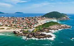 Praia Grande - São Francisco do Sul, SC é repleta de atrações como praias, cachoeiras, manguezais, dunas, restingas, lagoas e florestas de Mata Atlântica.