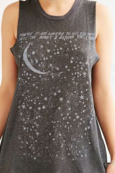 Future State Starry Night Muscle Tee - Urban Outfitters