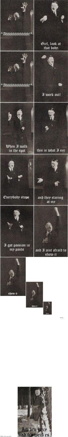 Sing along everyone, ich bin sexy, und ich weis es