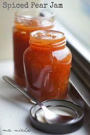 Ma Niche: Spiced Pear Jam