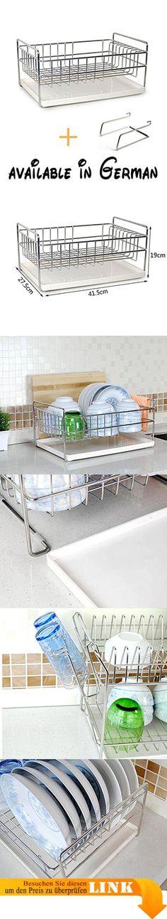 B078TXRCMC  William 337 304 Edelstahl Küchenregal Schüssel Regal - hochschrank 30 cm breit küche