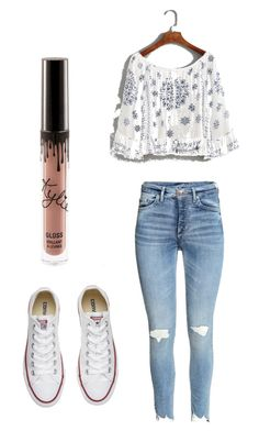 """""""Sadie"""" by morganmaccc on Polyvore featuring WithChic and Converse"""