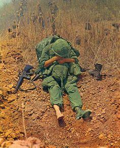 Vietnam War, resting them doggies.    https://www.pinterest.com/jr88rules/vietnam-war-memories-2/