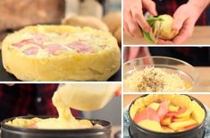 "La ""Tartagnarde"", une tarte Tatin salée façon raclette - La Recette"