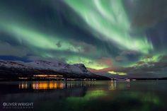 Auroras boreales desde Tromsø, Noruega – El Universo Hoy