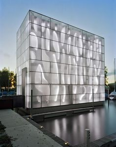LED Light House by Baumschlager-Eberle, What so amazing