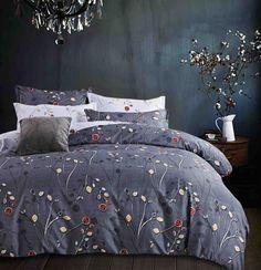 Reversible-Queen-King-SuperKing-Size-Bed-Duvet-Doona-Quilt-Cover-Set-New-Ar-M298