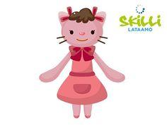 Innostu leikkimään arkistot - Hyvinvoiva Perhe Princess Peach, Flamingo, Hello Kitty, Minnie Mouse, Disney Characters, Fictional Characters, Cartoon, Animals, Artists