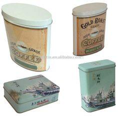 Coffee Tin, Tea Can