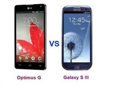 The LG Optimus G vs Samsung Galaxy S III are two amazing smartphones of the company having rich specifications, functions and features. Take a look onto a detailed comparison between the two to find the better device.