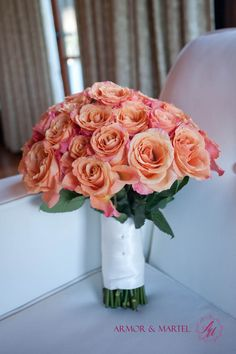 @Brenda Stewart  I want pink roses of some type for the bridal bouquet. Probably not this orange of a pink.