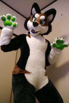 新キャラできた!川上犬をモチーフに作りました。オーナーさん気に入ってくれると良いなぁ〜