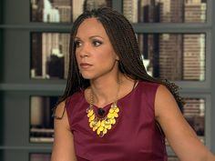 Melissa Harris Perry: American author, political scientist, television host and liberal political commentator with a focus on African-American politics.