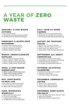 low waste tips Find out more about diving into a full year of zero waste exploration. Zero waste doesnt happen overnight - and its a lot more than a piece of plastic. Going Zero Waste, No Waste, Reduce Waste, Reduce Reuse Recycle, How To Recycle, Think, Simple Life Hacks, Green Life, Go Green