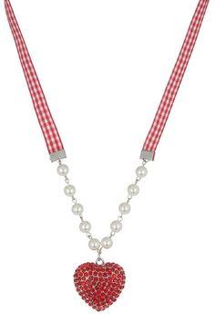Pin for Later: Die coolsten Accessoires für euren Oktoberfest-Look  Anna Field Halskette mit Herz-Anhänger (13 €)